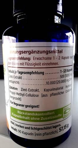 Zimt Extrakt Cinnamomum verum