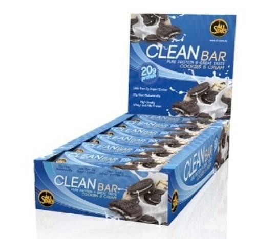 Clean Bar Proteinriegel - 18 x 60 g - AllStars