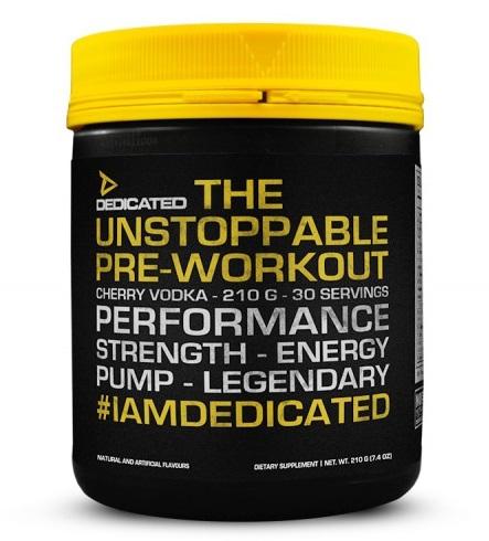 Unstoppable V2 - 210g - Dedicated Nutrition