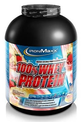 100% Whey Protein - 2350g (2,35 kg) - Ironmaxx