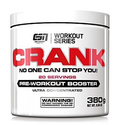 Crank (Pre-Workout Booster) - 380g - ESN