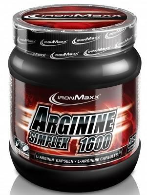 Arginine Simplex 1600 - 300 Kapseln - Ironmaxx