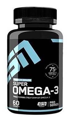 Omega 3 - Fischöl Kapseln - 60 Kapseln - ESN