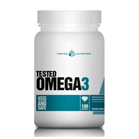 Tested Omega 3 - Fischöl Kapseln - 100 Kapseln - Tested Nutrition
