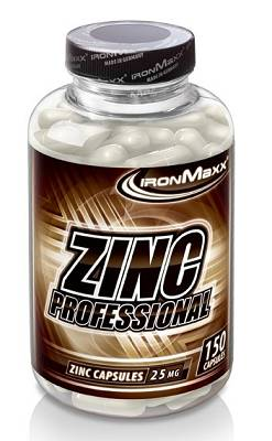 Zinc Professional (Zinkgluconat) - 150 Kapseln - Ironmaxx