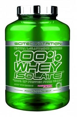100% Whey Isolate - 2000g (2kg) - Scitec Nutrition